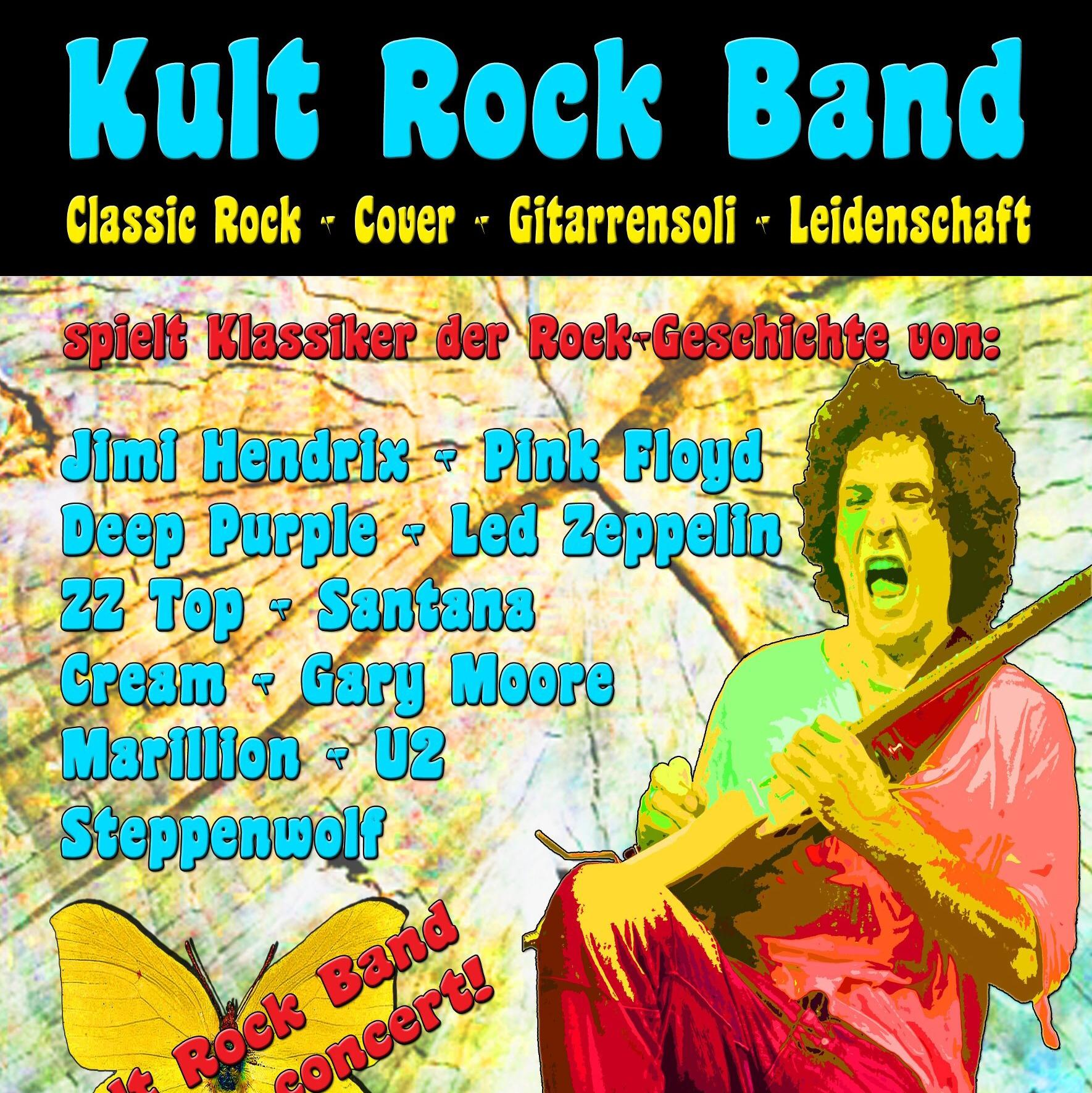 Kult Rock Band auf Facebook